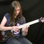 Teenage Girl Nonchalantly Plays Van Halen's 'Eruption' Guitar Solo
