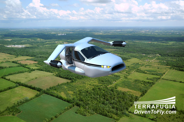 Terrafugia Unveils Futuristic TF-X Flying Car Concept