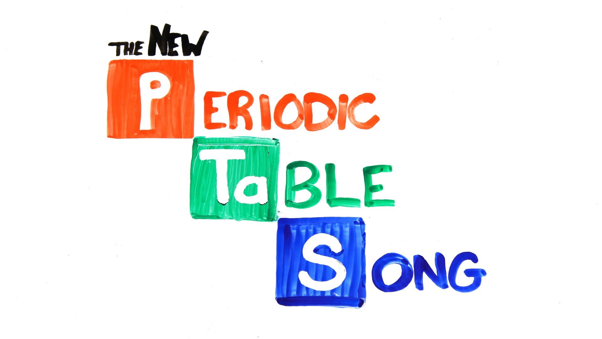 The New Periodic Table Song By Asapscience