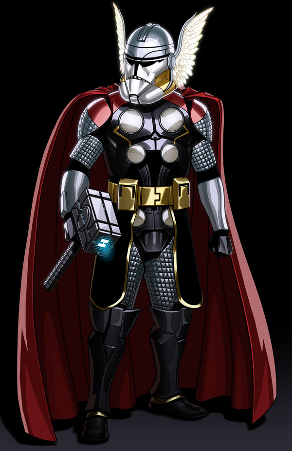 Avengers Clone Troopers