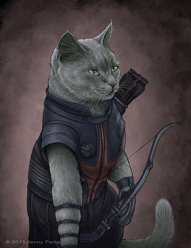 Hawkeye Cat