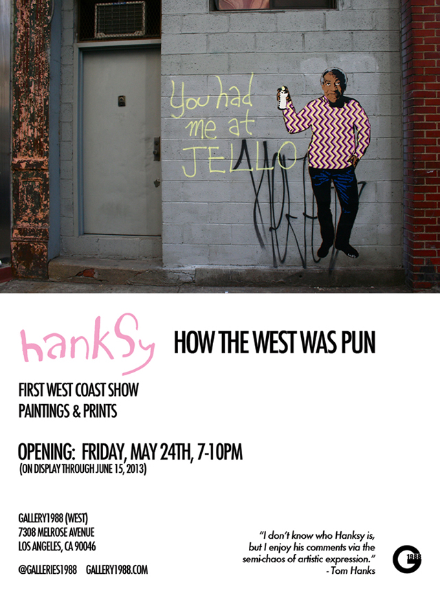 Hanksy show