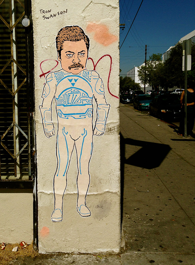 Tron Swanson Hollywood CA