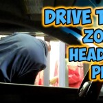 Zombie & Headless Car Driver Pranks Fast Food Drive-Thru Employees