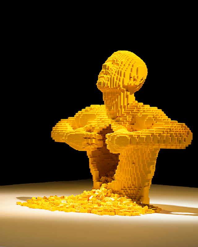 Art of the Brick, Largest Solo LEGO Art Show Ever at Discovery Times Square Museum in New York City