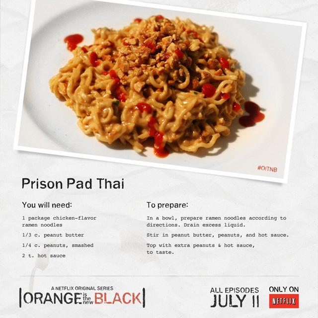 Prison Pad Thai