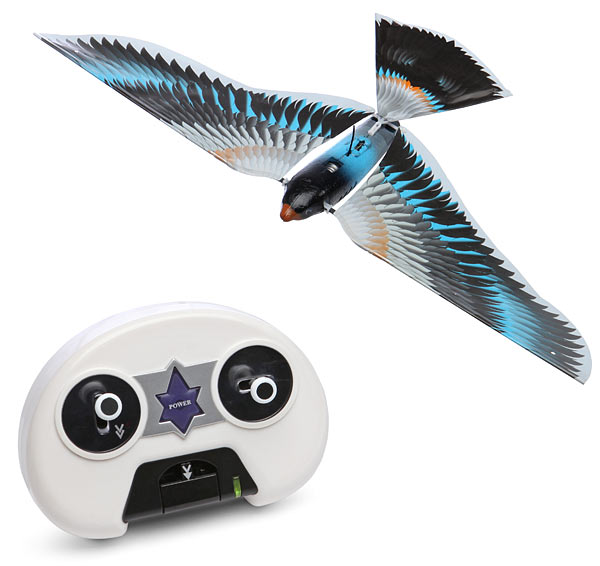 Remote Control Flying Bionic Bird Mimics Natural Flight