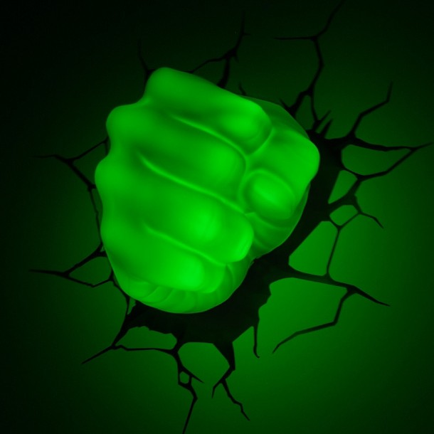 3D Hulk Fist Nightlight