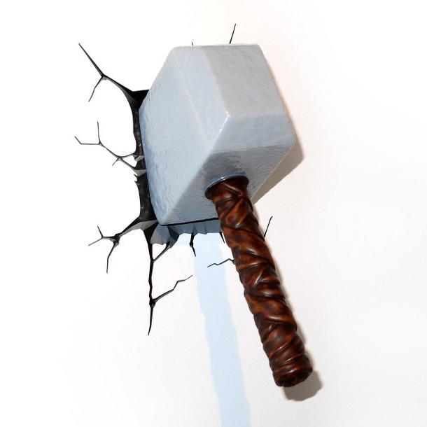 3D Thor Hammer Nightlight