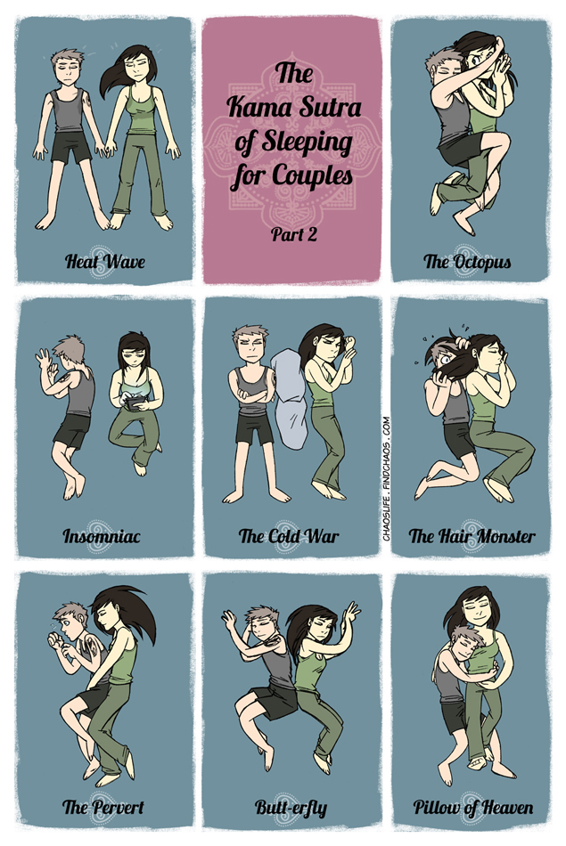 The Kama Sutra of Sleeping for Couples, Part 2