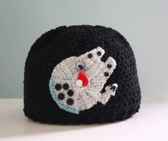 Ewok Hat: Star Wars-Themed Crocheted Hats, Mittens, And Lightsabers