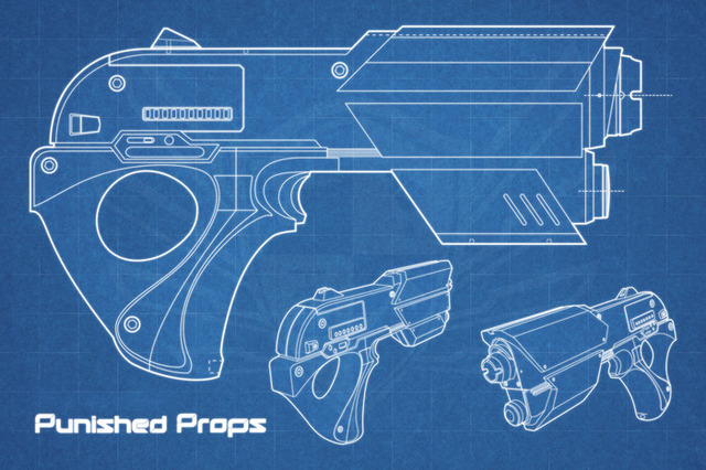 The prop space gun project diy space gun kits by punished props prop space gun malvernweather Images