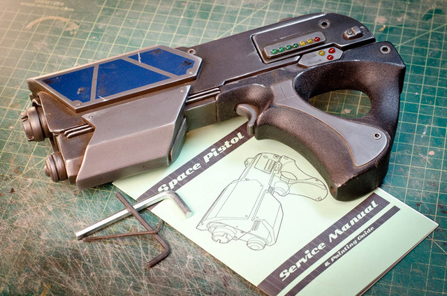 The prop space gun project diy space gun kits by punished props solutioingenieria Gallery