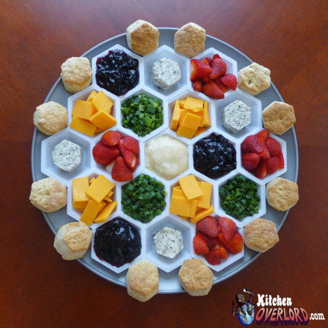 Settlers of catan themed breakfast taco waffle and for Food bar game