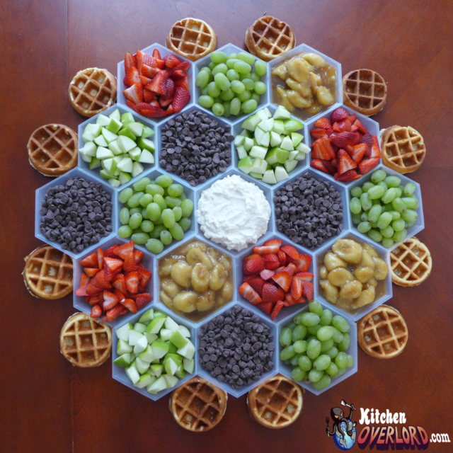 Settlers of catan themed breakfast taco waffle and for Food bar games free online