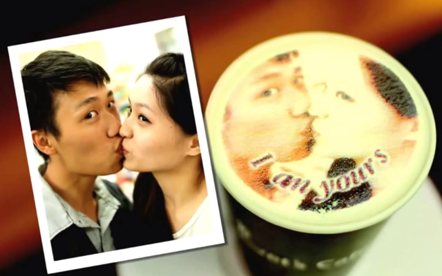 Taiwanese Coffee Shop Lets Customers Print Pictures on Their Lattes
