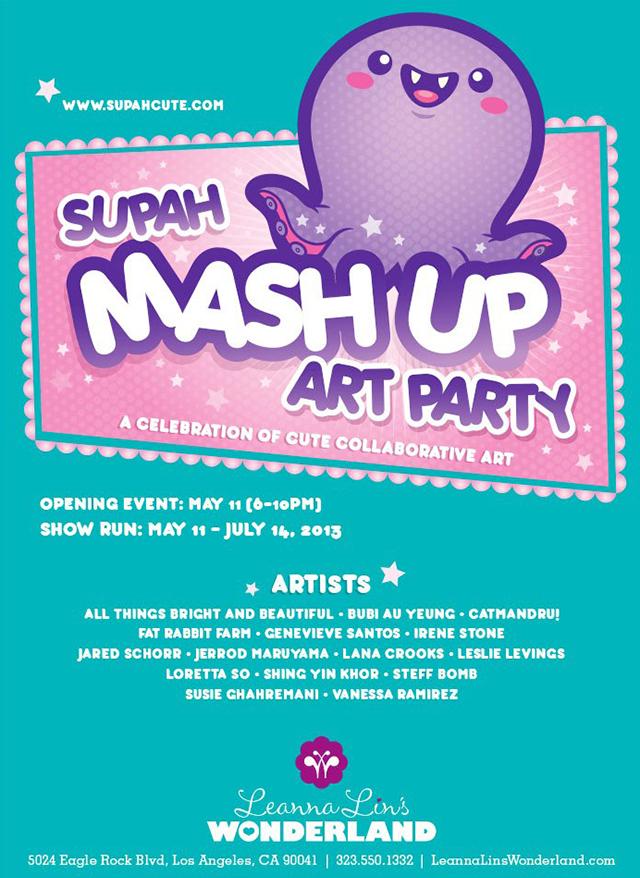 Supah Mashup Art Party