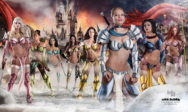 Disney warrior princess sexy apologise