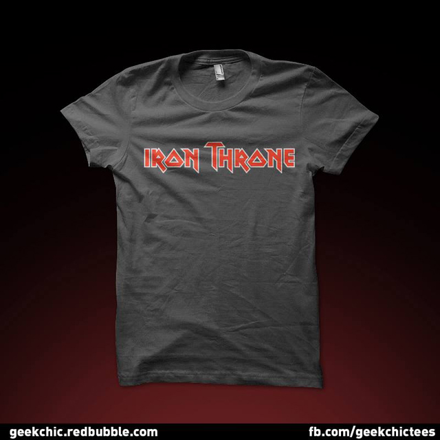 Iron Throne An Iron Maiden Meets 39 Game Of Thrones 39 T