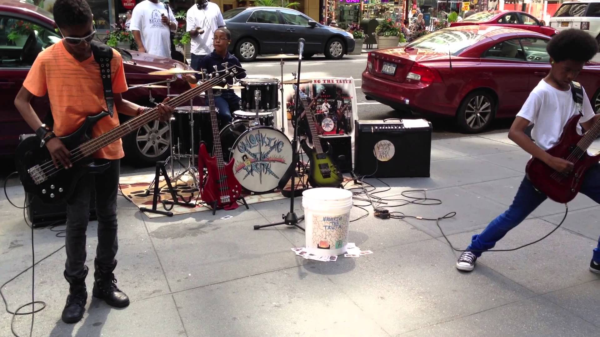 6th Grade Heavy Metal Band Unlocking The Truth Rocking Manhattan