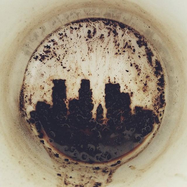 coffee sludge skyline
