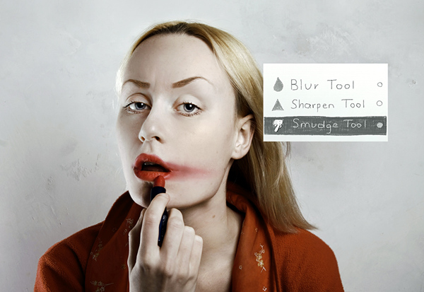 Photoshop in Real Life by Flora Borsi