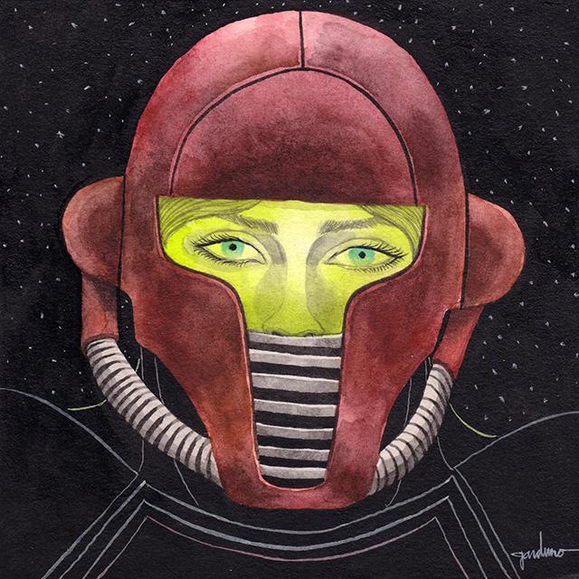 Samus by Ken Garduno
