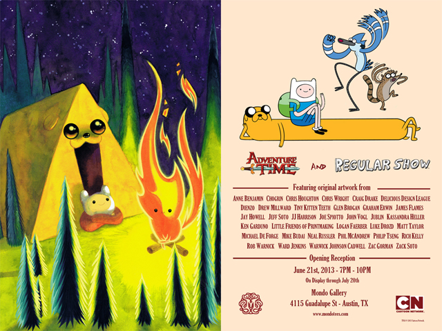 ADVENTURE TIME & REGULAR SHOW Gallery