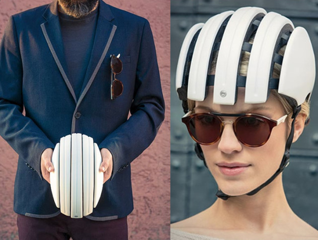 Carrera Foldable Helmet, A Bike Helmet with a Collapsible Frame