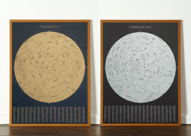 Hollywood Star Charts by Dorothy Collective