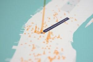 Etch Foursquare check-in maps