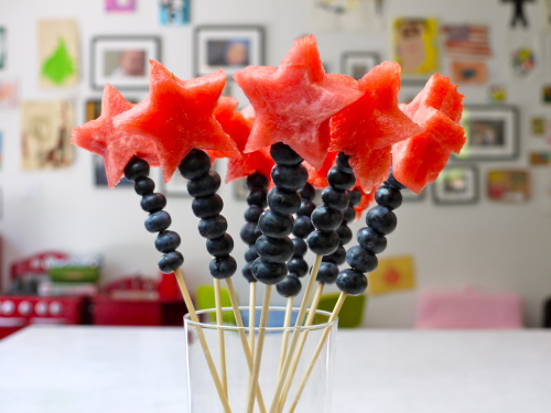Magical Fruits Wands For the Fourth of July