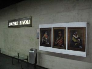 Kai Louvre installation
