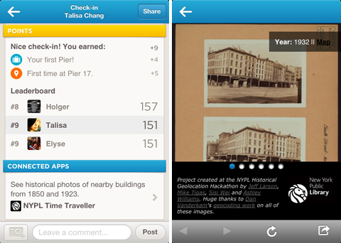 NYPL Time Traveller, An App That Integrates With ...