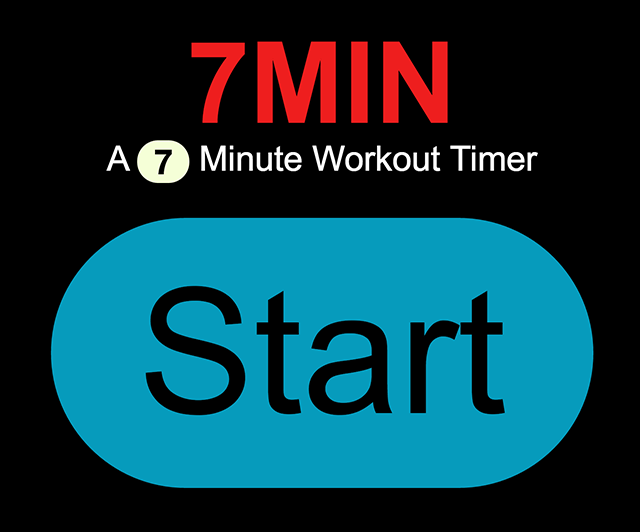 7 Minute Scientific Workout Timer