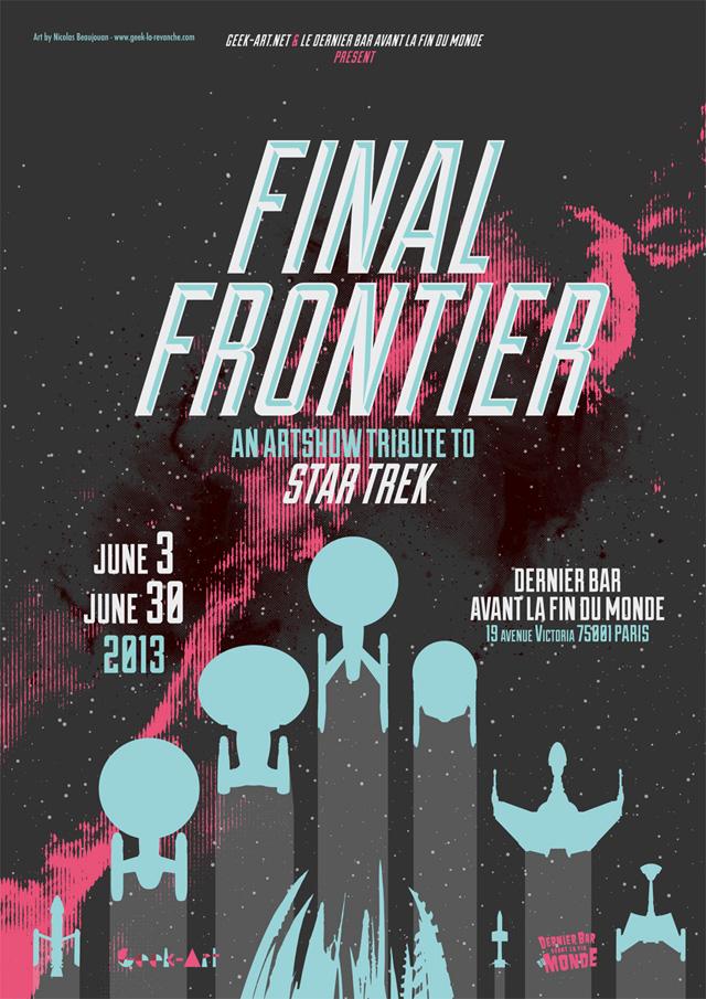 Star Trek Artshow FInal Frontier