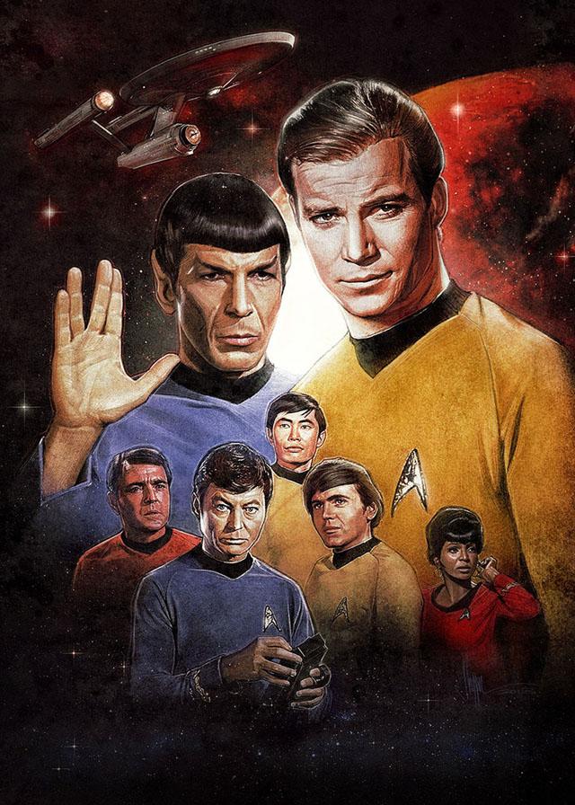 Star Trek Origins by Paul Shipper