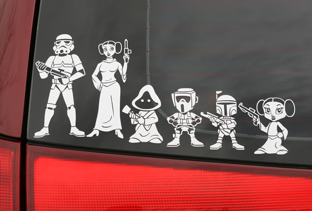 Star Wars Decals