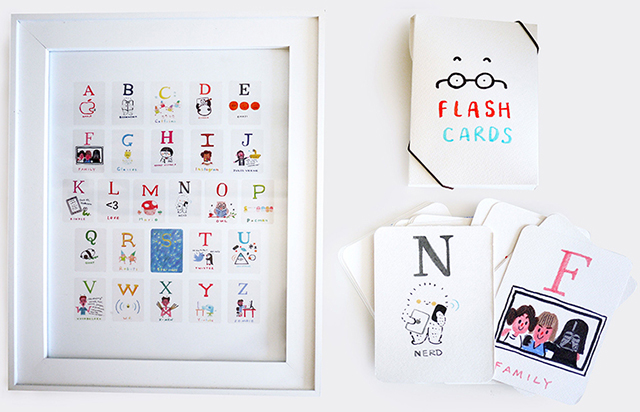 Nerd Flash Cards by Bubi Au Yeung and All Things Bright and Beautiful