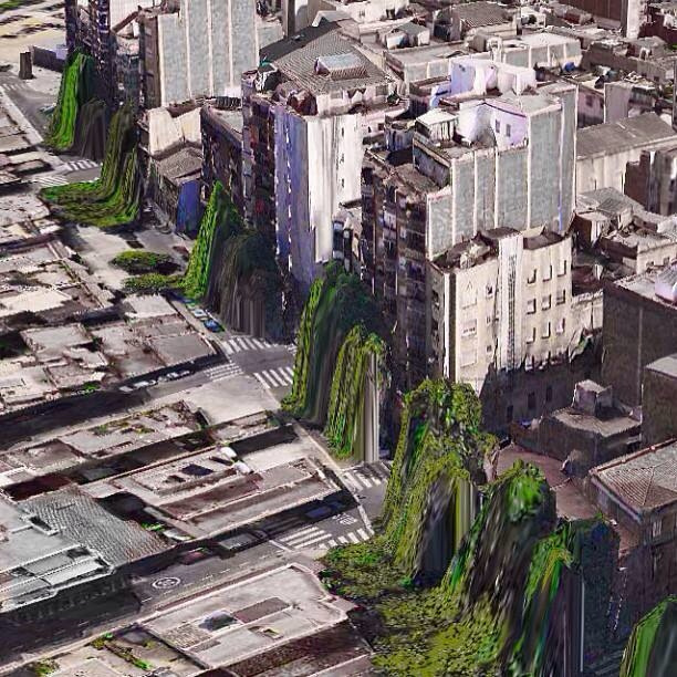 Apple Maps Art