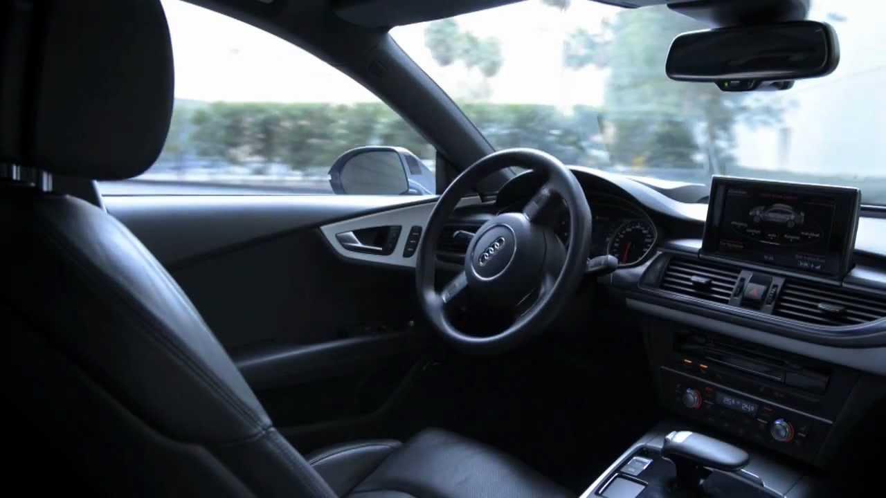 Audi Demonstrates Driverless Self-Parking Technology