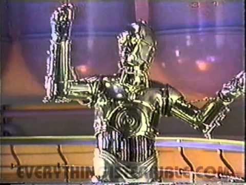 C-3PO Raps to Promote the Star Tours Ride at Disneyland (1986)