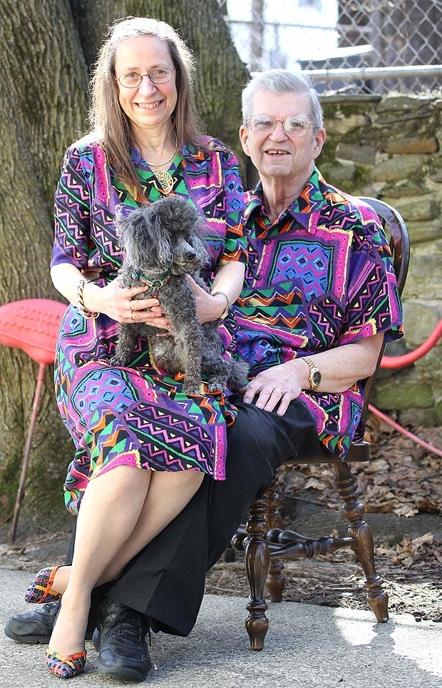 Couple Wears Matching Outfits For the Past 35 Years