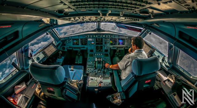 Cockpit HDR photos by Karim Nafatni