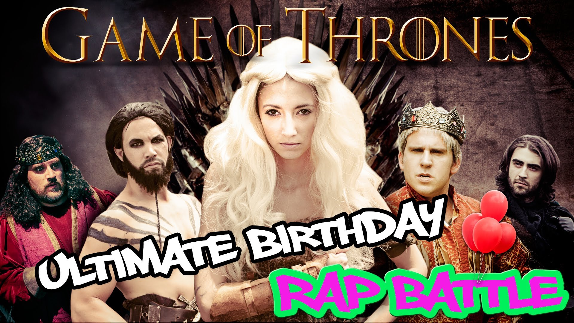 Game of thrones rap battle at a kid s birthday party for Game of thrones birthday party