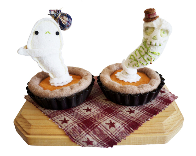 These Pies are Definitely Haunted by Lana Crooks and Steff Bomb
