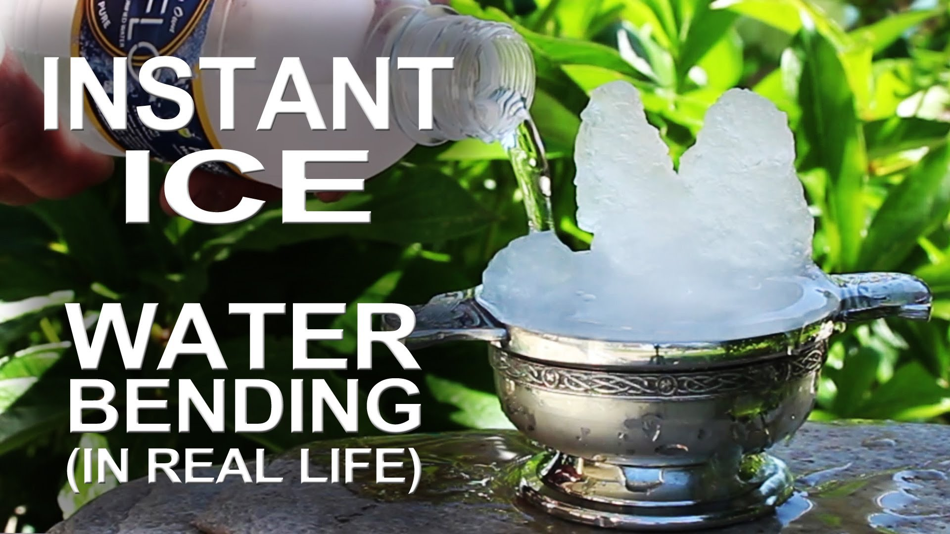 How to Create Instant Ice From Regular Flowing Water