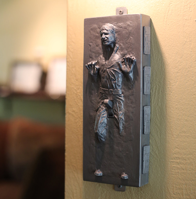Star Wars Han Solo in Carbonite Light Switch