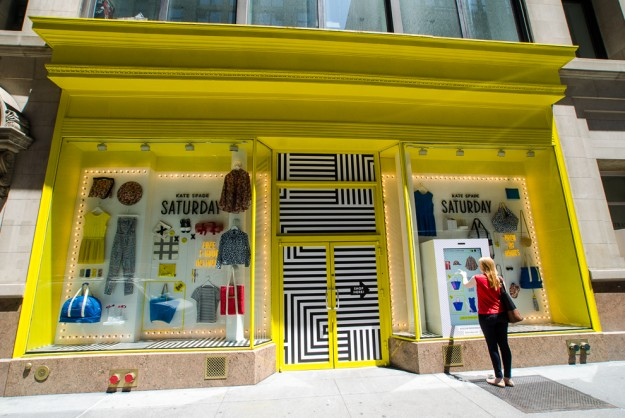 24 hour window shopping kate spade launches new saturday for 24 hour beauty salon nyc