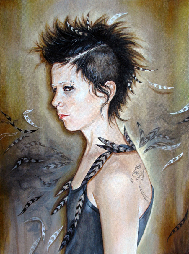 Lisbeth by Edith Lebeau (Lisbeth Salander from The Girl with the Dragon Tattoo)